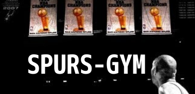 【NBA】SPURS-GYM